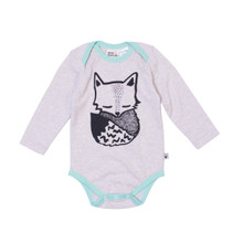 Milk & Masuki Long Sleeve Bodysuit - Fox