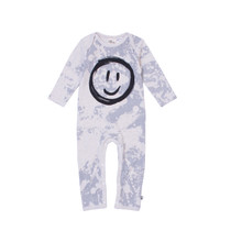 Milk & Masuki Full Body Button All - Splatter Smiley Face