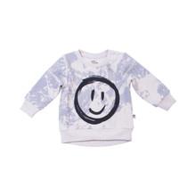 Milk & Masuki Baby Jumper - Splatter/Smiley Face