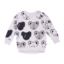 Milk & Masuki Crew Neck Jumper - Koala Meterage (LAST ONE LEFT - SIZE 7 YEARS)