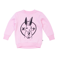 Milk & Masuki Crew Neck Jumper - Rabbit Rockstar