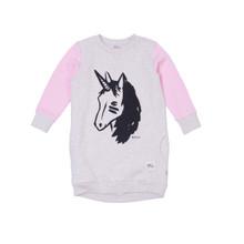 Milk & Masuki Jumper Dress - Unicorn (LAST ONE LEFT - SIZE 2 YEARS)