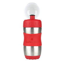 Kid Basix Safe Sporter Bottle 355ml (Small) - Red (OUT OF STOCK)