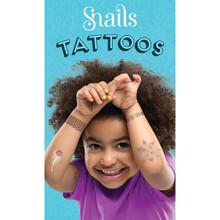 Snails Jewellery Tattoo - Neon