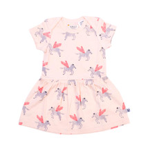 Neon Kite Baby Dress - Pegasus