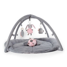 O.B. Designs Woodlands Activity Playmat (Pink + Grey)