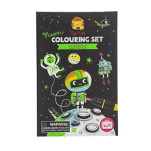 Tiger Tribe Neon Colouring Set - Outer Space (OUT OF STOCK)