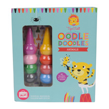 Tiger Tribe Oodle Doodle Crayon - Animals