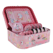 Tiger Tribe Tin Tea Set - Kittens & Puppies (OUT OF STOCK)