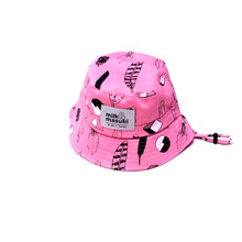Milk & Masuki Bucket Hat - Feathers