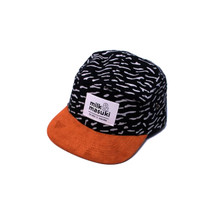 Milk & Masuki 5 Panel Cap - Crackle