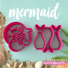 Lunch Punch (2 set) - Mermaid