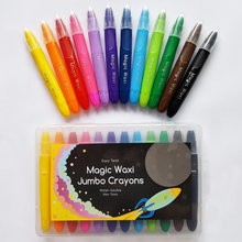 Lunables Magic Waxi Jumbo Gel Crayons (12 Pack)