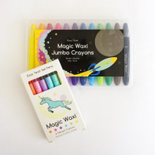 Lunables Magic Waxi™ Neon Mini Pack and Jumbo Gel Crayon Combo