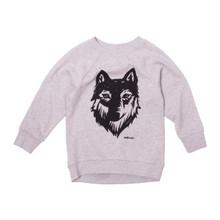 Milk & Masuki Crew Neck Jumper - Wolf