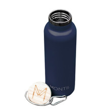 Montii Insulated Drink Bottles (600ml) - Navy