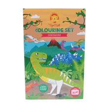 Tiger Tribe Colouring Set - Dinosaur