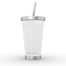 Montii Smoothie Cup - White (PRE-ORDER - ETA 17 SEP)