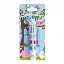 Bobble Art 10 Colour Pen - Woodland