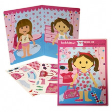 Bobble Art Magnetic Play Board - Dress-up Doll