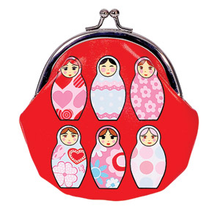Bobble Art Purse - Babushka
