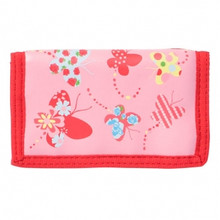 Bobble Art Velcrose Wallet - Butterfly