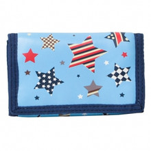 Bobble Art Velcrose Wallet - Multi Star