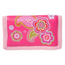 Bobble Art Velcrose Wallet - Paisley