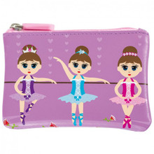 Bobble Art Wallet - Ballerina
