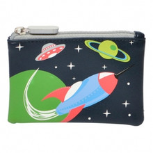Bobble Art Wallet - Rocket