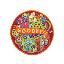 Goodbyn Embroided Patch - Animals / Kitten