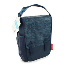 Goodbyn Insulated Lunch Bag - Blue Pattern
