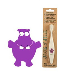 Jack and Jill Biodegradable Toothbrush - Hippo
