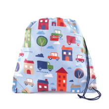 Penny Scallan Drawstring Coated Bag - Big City