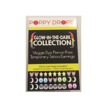 Poppy Drops Pierce Free Earrings - Glow-In-The-Dark Collection