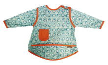 Close Pop-in Coverall Bib - Hippo