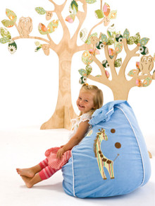 Cocoon Couture Gorgeous Giraffe - BLUE
