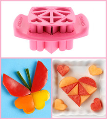 Funbites Hearts Pink - Designs a big heart out of 10 geometric shapes!