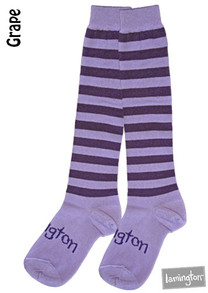 Lamington Adult Merino Socks - Grape