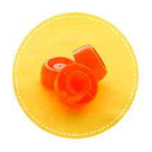 Sinchies Child Safe Choke Lids (3 pack) - Orange (OUT OF STOCK)