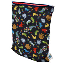 Planet Wise Medium  Wet Bag - Monster Mash (OUT OF STOCK)