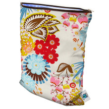 Planet Wise Medium Wet Bag - April Flowers (SOLD OUT)
