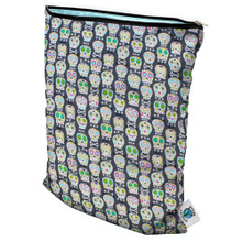 Planet Wise Medium Wet Bag - Carnival Skulls (OUT OF STOCK)