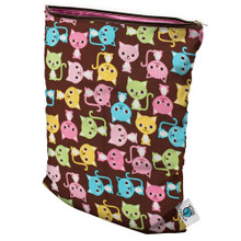 Planet Wise Medium Wet Bag - Kitty Kat