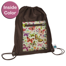 Planet Wise Sport Bag -  Butterflies (OUT OF STOCK)