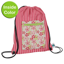 Planet Wise Sport Bag -  Pink Daisy (OUT OF STOCK)