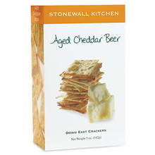 A yummy cheesy cracker from Stonewall Kitchens