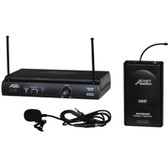 Audio2000's AWM6031DUM Lavaliere Wireless Microphone System