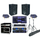 "The Tilt Top Pro 550 Watt Professional System with 15"" Speakers"