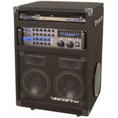 VocoPro IDOL II 200W Portable USB/DVD/CD+G Karaoke Player w/ Digital Key Control
